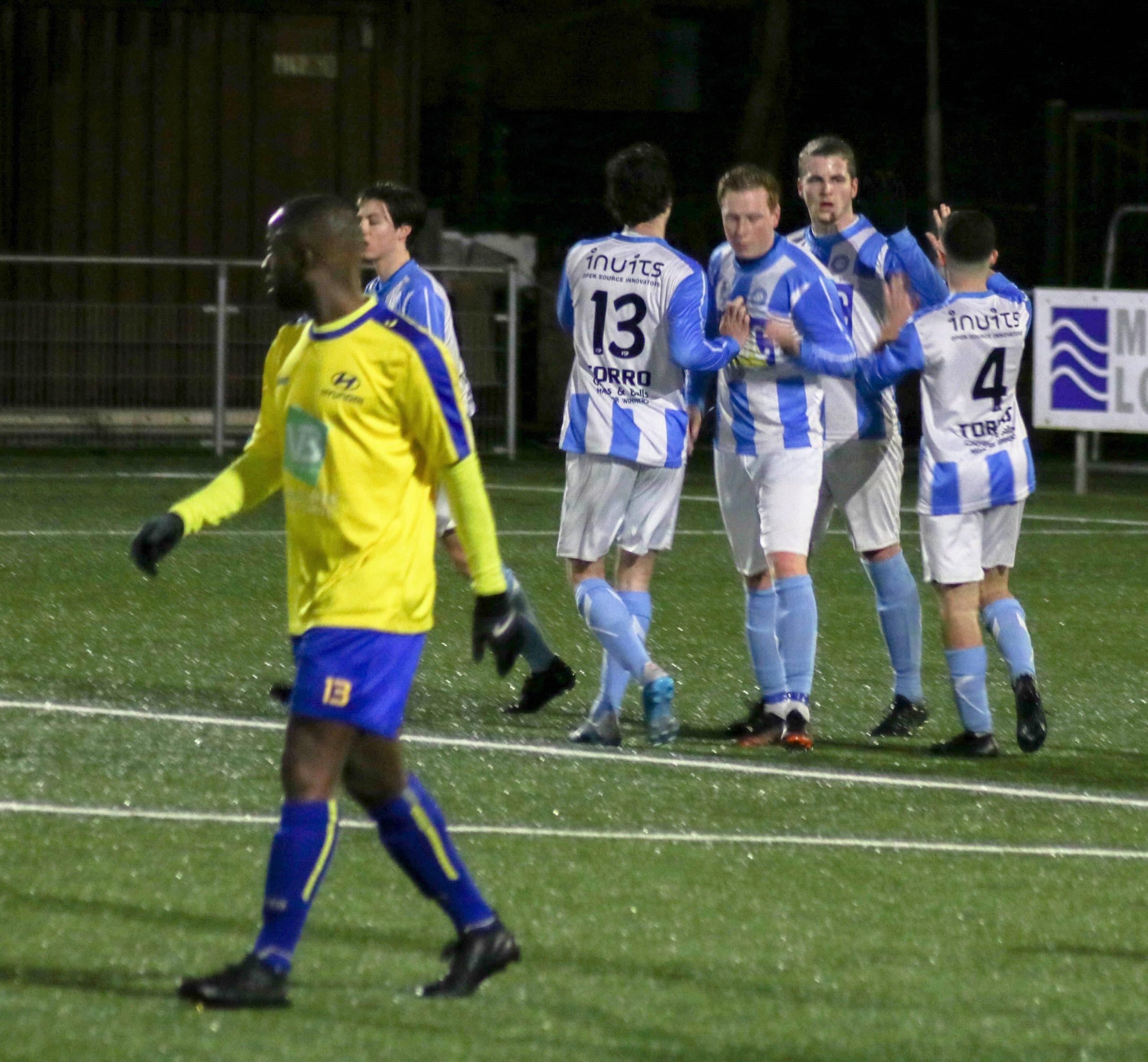 2-1 overwinning tegen Wijnegem